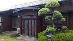 泉北郡忠岡町S様邸外壁塗り替え¥20万 日本ペイントケンエースGⅡ